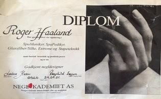 Godkjenning Diplom